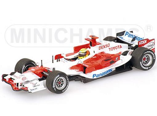 Panasonic Toyota Racing: TF106 - R. Schumacher (2006) - 1:43