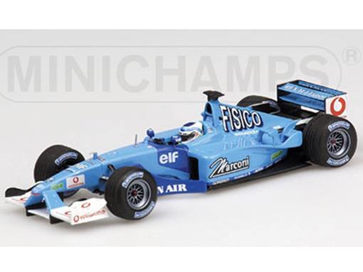 Benetton Renault Sport: B201 - G. Fisichella (2001) - 1:43