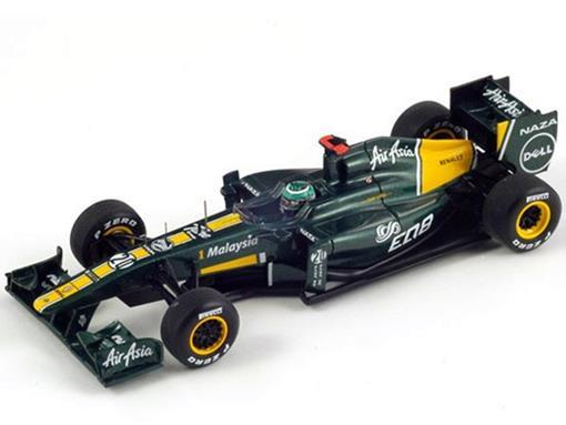Lotus: T128 -  Heikki Kovalainen - Chinese GP (2011) - 1:43