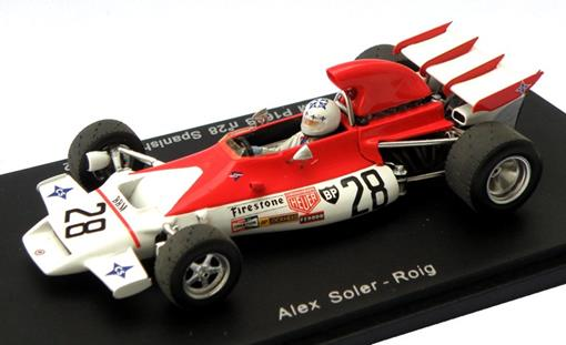 BRM: P160B - Alex Soler - Spanish GP (1972) - 1:43