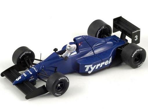 Tyrrell: 018 - Jonathan Palmer - San Marin GP (1989) - 1:43