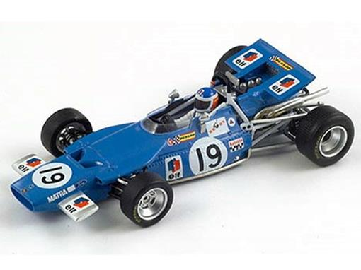 Matra: MS84 - Johnny Servoz - Canadian GP (1969) - 1:43