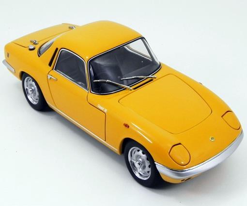 Lotus: Elan S/E Coupé - Amarelo - 1:18