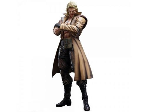 Boneco Liquid Snake - Metal Gear Solid - Play Arts Kai