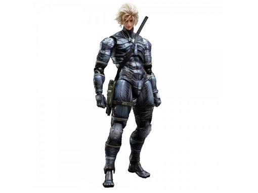 Boneco Raiden - Metal Gear Solid 2 Sons of Liberty - Play Arts Kai