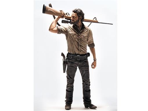 Boneco Rick Grimes - The Walking Dead - McFarlane Toys