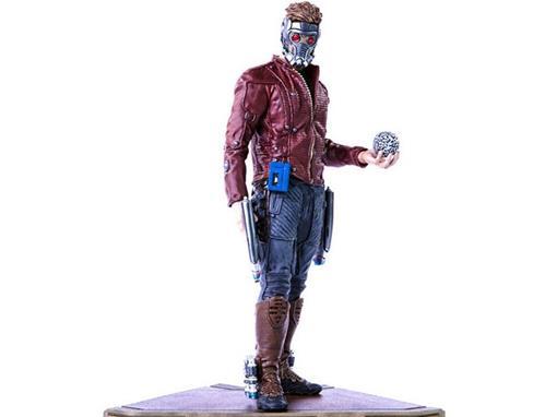 Estátua Star Lord - Guardiões da Galáxia - 1:10 - Iron Studios