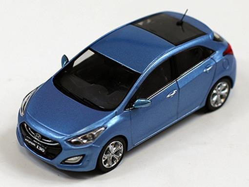 Hyundai i30 (2012) - Azul - 1:43