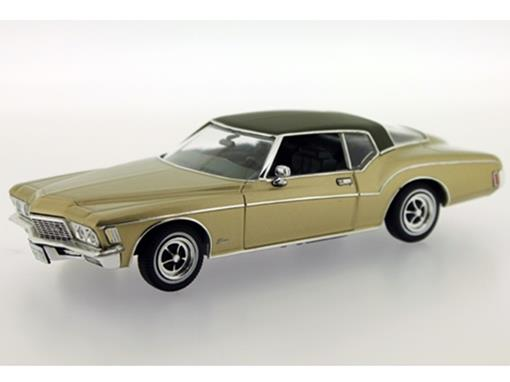 Buick: Riviera Coupe (1972) - Verde Metálico - 1:43
