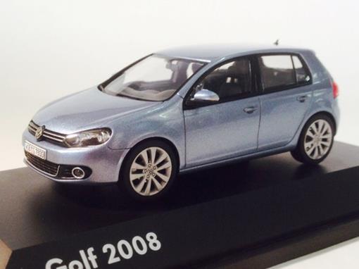 Volkswagen: Golf VI Turer (2008) - Azul - 1:43