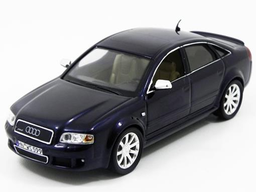 Audi: RS6 (2003) - Azul - 1:43