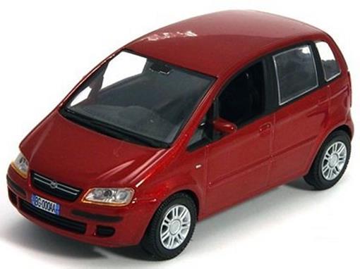 Fiat: Idea (2003) - Vermelho - 1:43