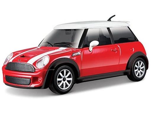 Mini Cooper: S - Vermelho - 1:24