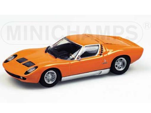 Lamborghini: Miura (1966) - Laranja - 1:43
