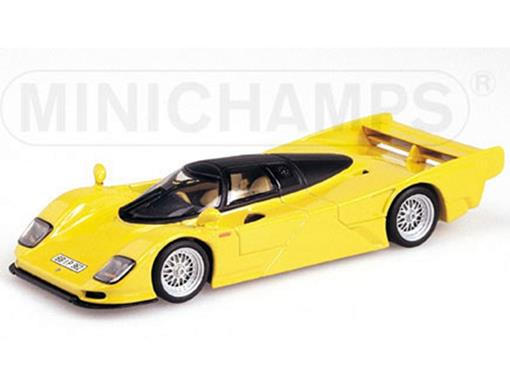 Porsche: Dauer 962 GT (1993) - Amarelo - 1:43