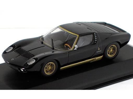 Lamborghini Miura (1966) - Preta - 1:43