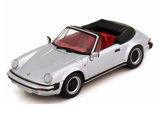 Porsche: 911 Carrera Cabriolet (1983) - Prata - 1:43
