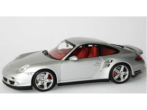 Porsche 911 Turbo 997 (2006) - Prata - 1:43