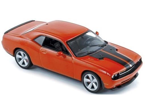 Dodge: Challenger SRT 8 (2008) - Laranja - 1:43