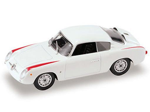 Fiat: 750 Abarth Coupé (1956) - Branco - 1:43