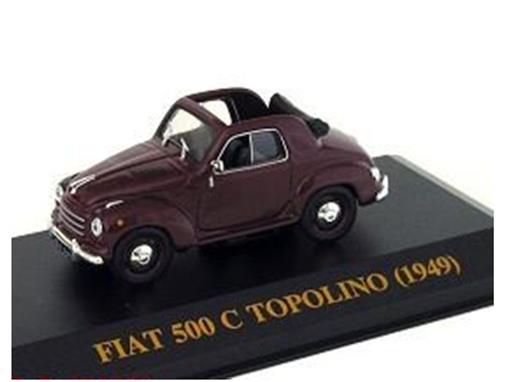 Fiat: 500 C Topolino (1949) - Borgonha - 1:43