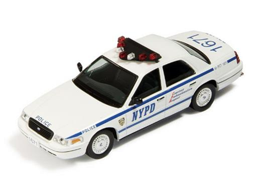Ford: Crown USA Police (New York-NYPD - 2001) - 1:43