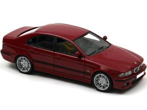 BMW: E39 M5 (2002) - Vermelho - 1:43