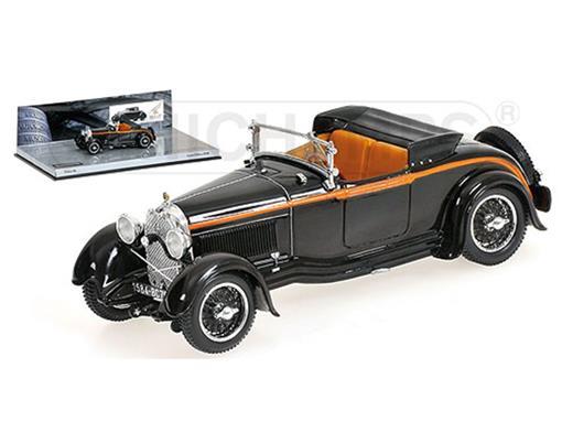 Lorraine-Dietrich: Type B3-6 - Sports Roadster (1928) - Preto - 1:43