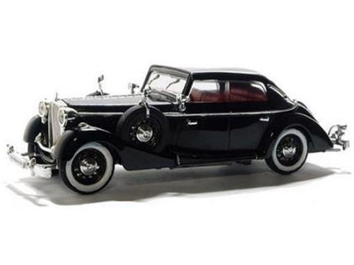 Maybach: SW38 Cabriolet (1937) - Preto - 1:43