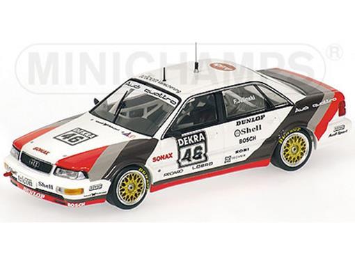 Audi: V8 Quattro - Team SMS Motorsport - Frank Jelinski (DTM 1990) - 1:43