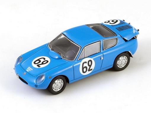 Simca: Abarth 1300 #62 - G. Balzarini / F. Albert - Le Mans 1962