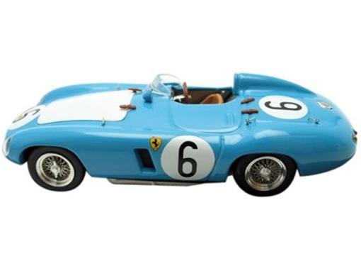 Ferrari: 750 Monza #6 - Lucas / Schell  - 1000 KM Parigi (1956) - Azul - 1:43