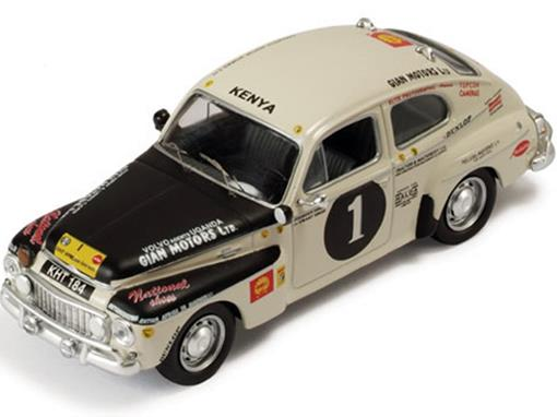 Volvo: PV544 Rally #1 - Singh Joginder / Singh Jaswant - East African Safari (1965) - 1:43
