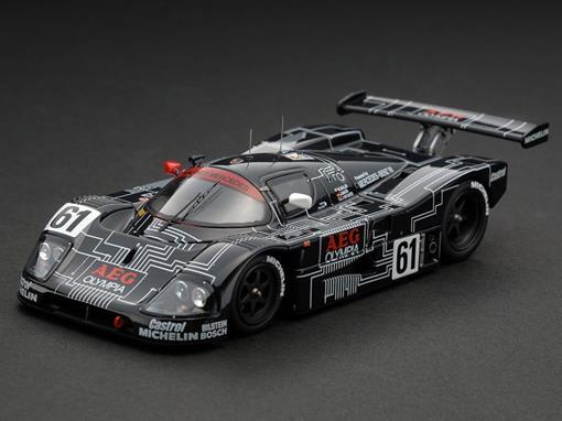 Sauber: Mercedes C9 #61 - Le Mans (1988) - 1:43 - Hpi Racing
