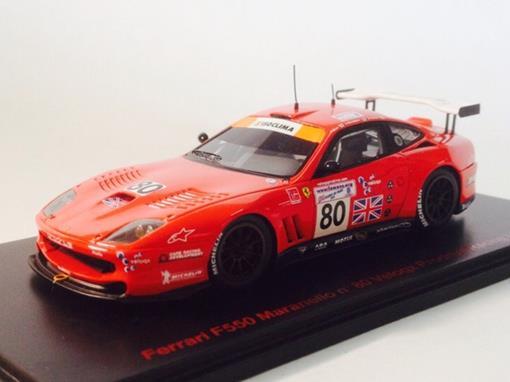 Ferrari: 550 Maranello #80 - Veloqx Prodrive Racing - Le Mans 2003 - 1:43