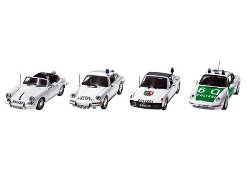 Set: Porsche - History Collection Police Cars - 1:43