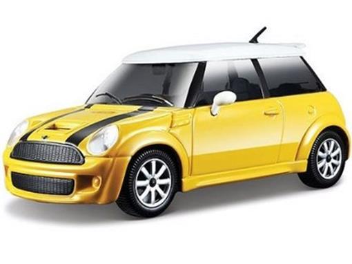 Mini Cooper: S - Amarelo - 1:24