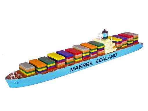 Maersk Sealand - P 624 - Navio Porta Containers - 1:1200