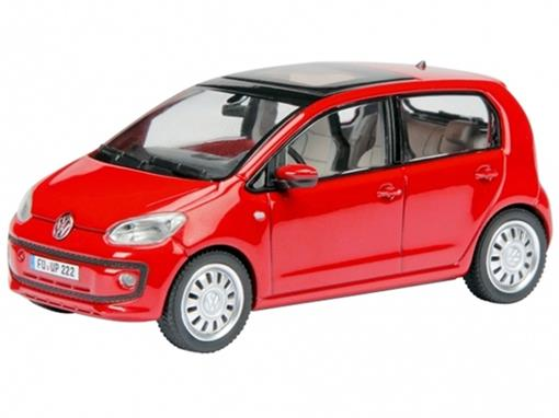 Volkswagen: UP! - Vermelho - 1:43