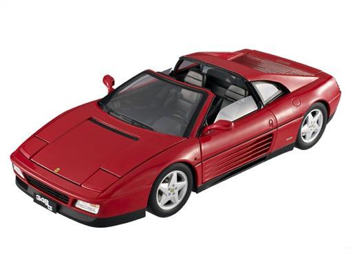 Ferrari: 348 Ts - Vermelha - 1:18