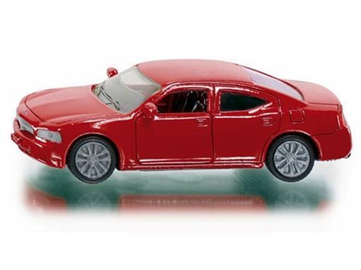 Dodge: Charger - Vermelho - 1:55
