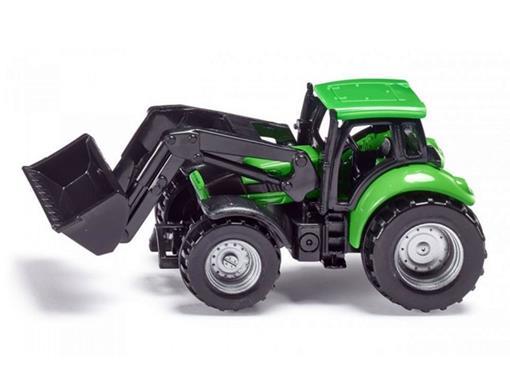 Deutz-Fahr: Trator Carregador Frontal - Verde - 1:64