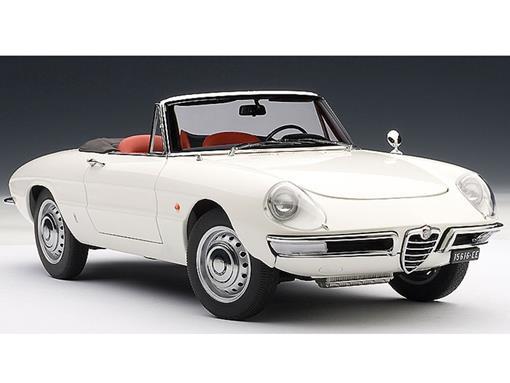 Alfa Romeo: 1600 Duetto Spider - Branco - 1:18