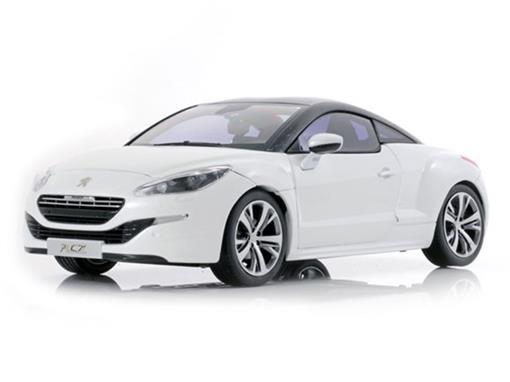 Peugeot: RCZ (2012) - Branco - 1:18
