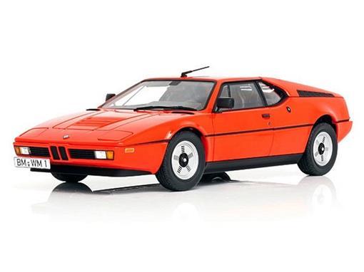 BMW: M1 (1978) - Laranja - 1:18