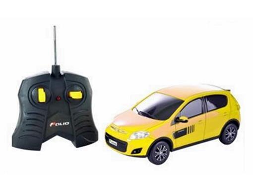 Fiat: Novo Palio Sporting - Amarelo - Controle Remoto - 1:18