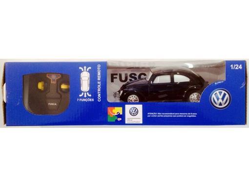 Volkswagen: Fusca - Controle Remoto - Preto - 1:24