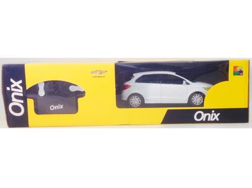 Chevrolet: Onix - Controle Remoto - Branco - 1:24