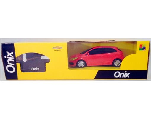 Chevrolet: Onix - Controle Remoto - Vermelho - 1:24