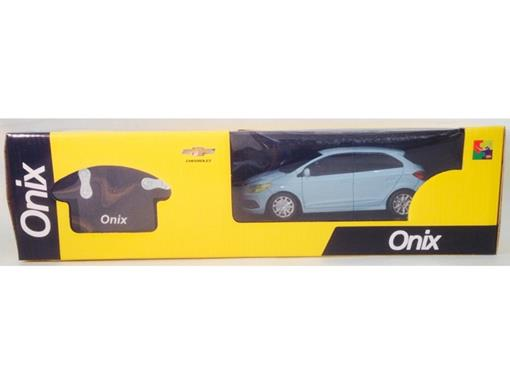 Chevrolet: Onix - Controle Remoto - Azul Claro - 1:24